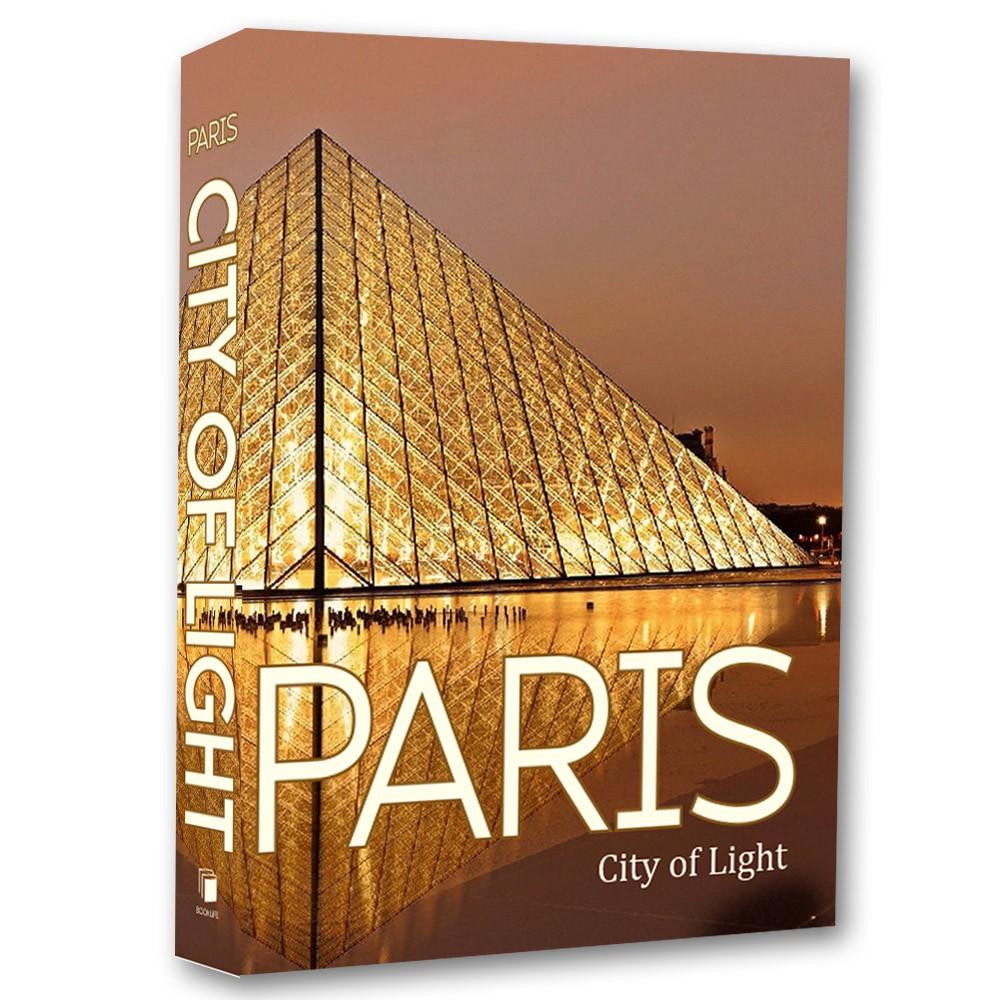 Livro Caixa Decorativo Book Paris 36x27x5cm  - Arrivo Mobile