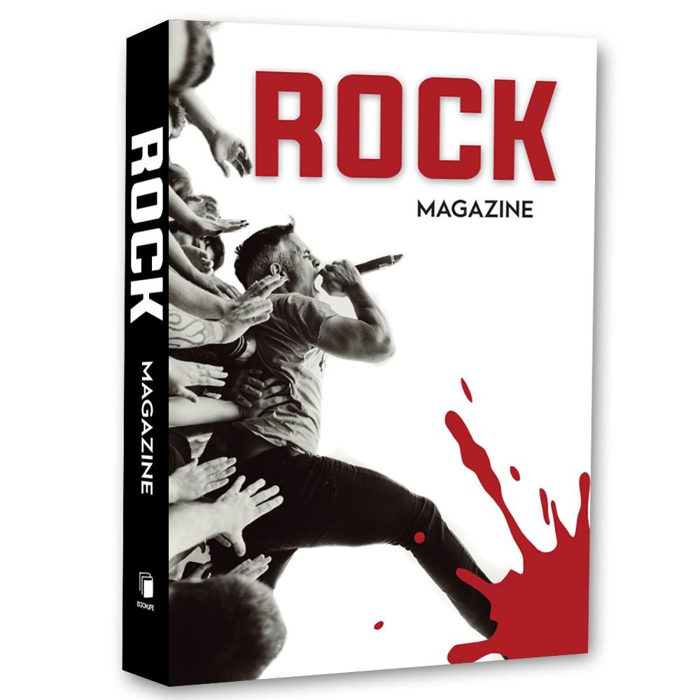Livro Caixa Decorativo Book Rock Magazine 36x27x5cm  - Arrivo Mobile