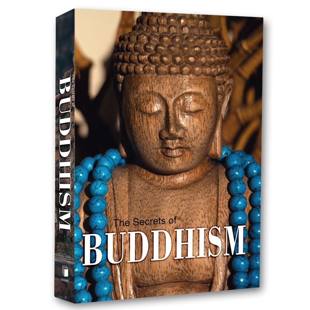 Livro Caixa Decorativo Book The Secrets of Buddhism  - Arrivo Mobile