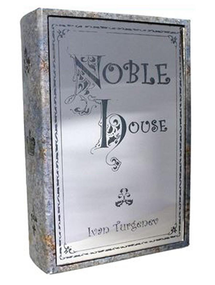 Livro Caixa Noble House Em Couro  - Arrivo Mobile