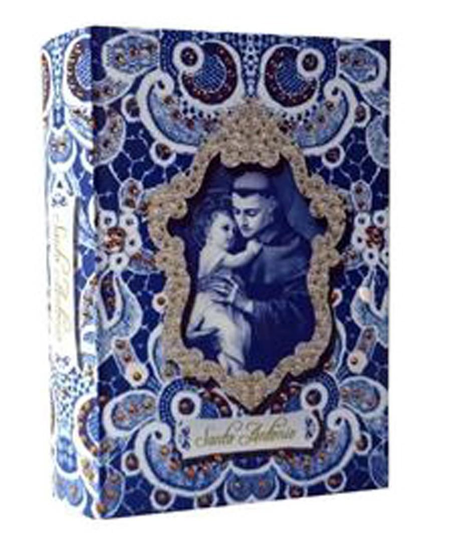 Livro Caixa Royal Santo Antônio 24x15x4cm  - Arrivo Mobile