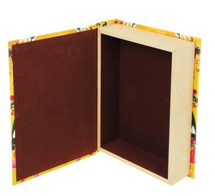 Livro Caixa Tropical Tucano 30x20x6cm  - Arrivo Mobile