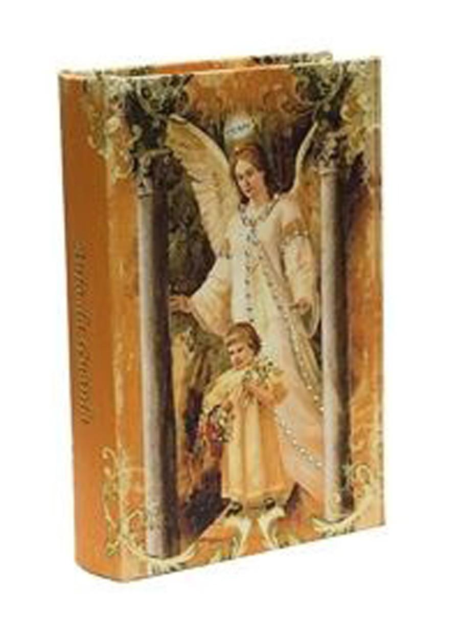 Livro Refúgio Divino Anjo Da Guarda 14x9x3cm  - Arrivo Mobile