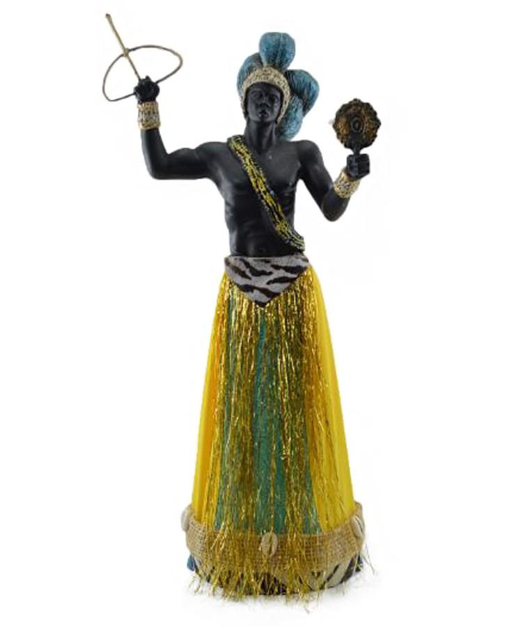 Estatua Imagem Orixá de Estatua Orixá IMagem de Logunedé Grande  - Arrivo Mobile