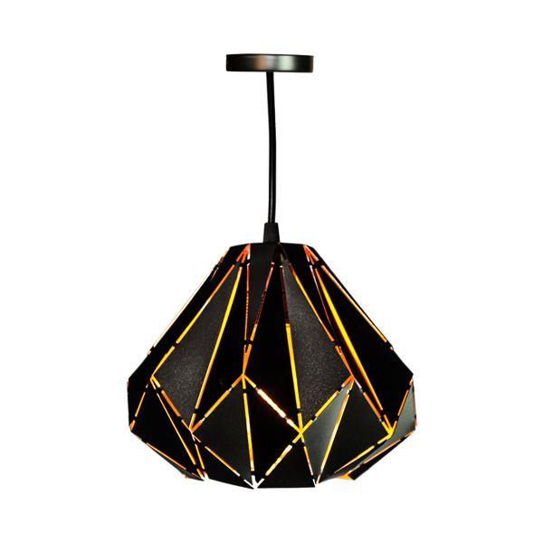 Luminária Pendente Formas Marrom  - Arrivo Mobile