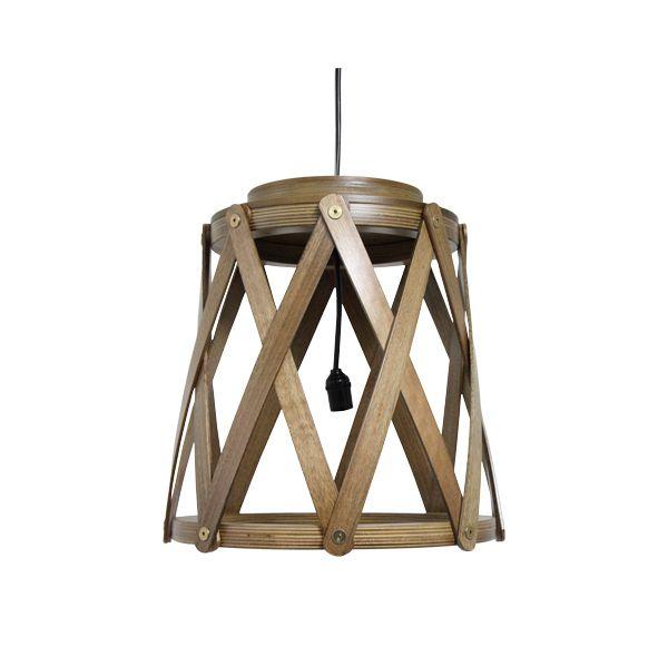 Luminária Tamborete Marrom Fullway  - Arrivo Mobile