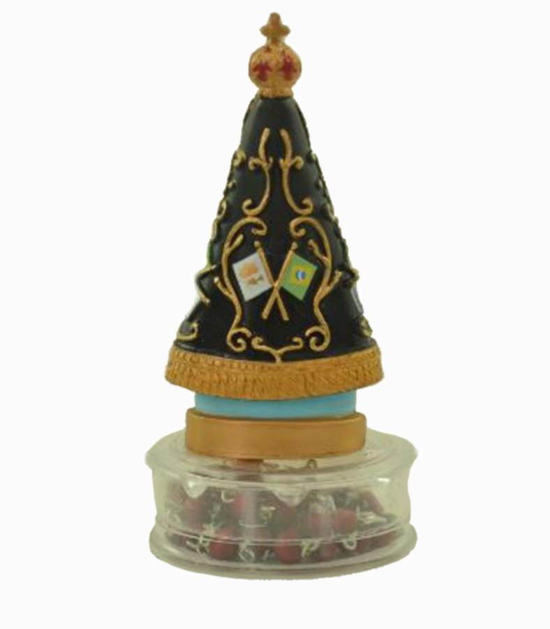 Estatua Imagem de Nossa Senhora Aparecida Com Terço  - Arrivo Mobile