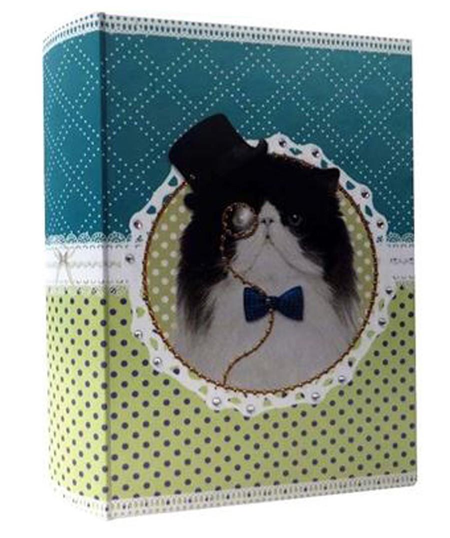 Pet Pop - Livro Caixa Gato 30x20x7cm  - Arrivo Mobile