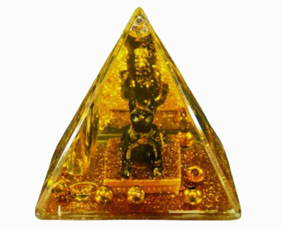 Pirâmide Chacal Porta Caneta Importação  - Arrivo Mobile