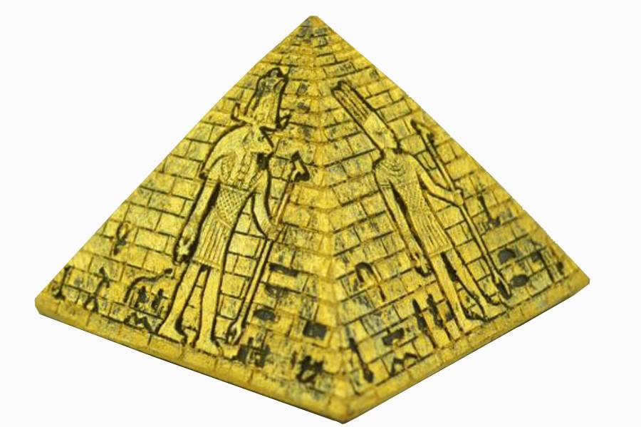 Pirâmide Egípcia De Resina Importação  - Arrivo Mobile