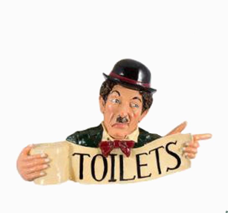 Placa Chaplin Resina Toilets  - Arrivo Mobile