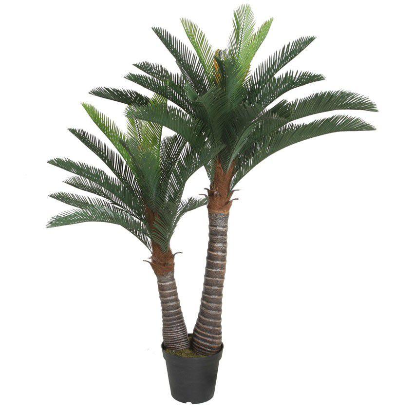 Planta Artificial Palmeira Com Folhas Longas 150Cm  - Arrivo Mobile