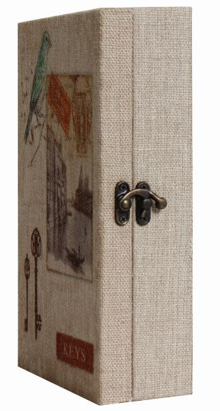 Porta Chave Decorativo de Parede Bird Eiffel Paris  - Arrivo Mobile