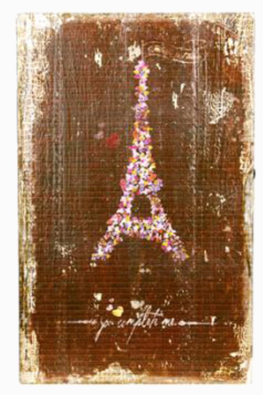 PORTA CHAVES TORRE EIFFEL PARIS OLDWAY 33X21X9CM  - Arrivo Mobile