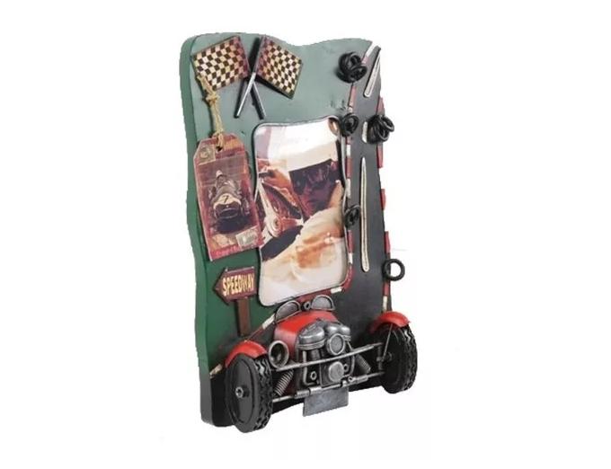 Porta Retrato Speedway Oldway 24,5x17x5,5cm  - Arrivo Mobile