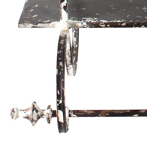 Prateleira Branca Com 2 Divisórias Provence Oldway - 80x71cm  - Arrivo Mobile