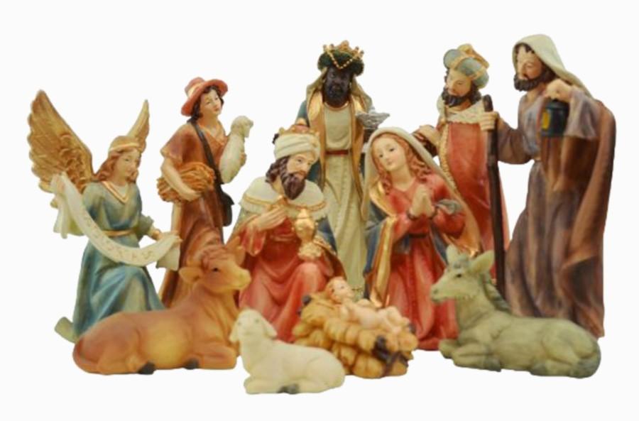 Presépio De Natal Maria Jesus Três Reis Magos 11 Personagens  - Arrivo Mobile