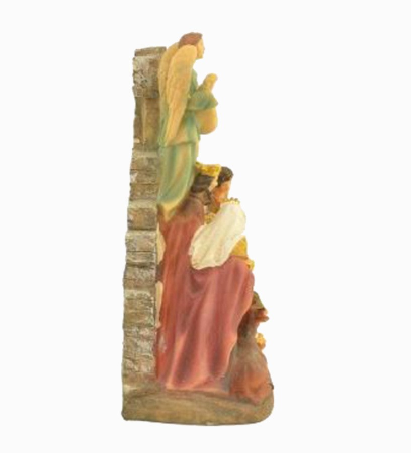 Presépio de Natal Maria Jesus Três Reis Magos 20cm  - Arrivo Mobile