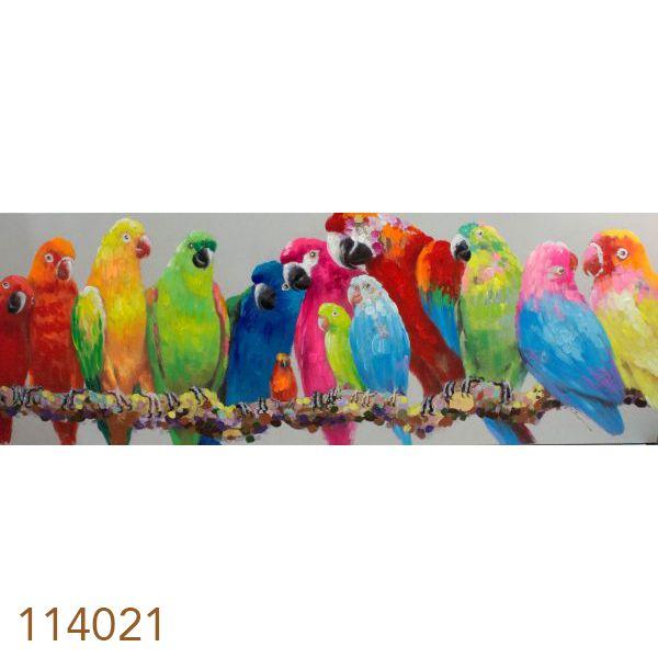 Quadro Pintura Araras  - Arrivo Mobile