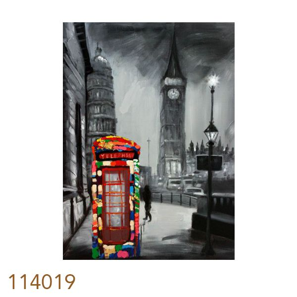 Quadro Pintura Londres  - Arrivo Mobile