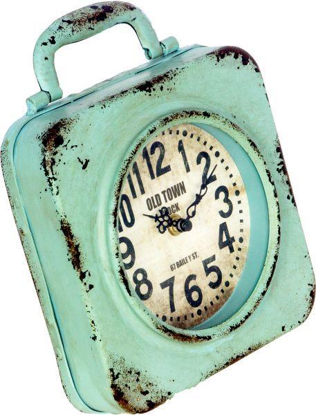 Relógio Azul Em Ferro Oldway  - Arrivo Mobile