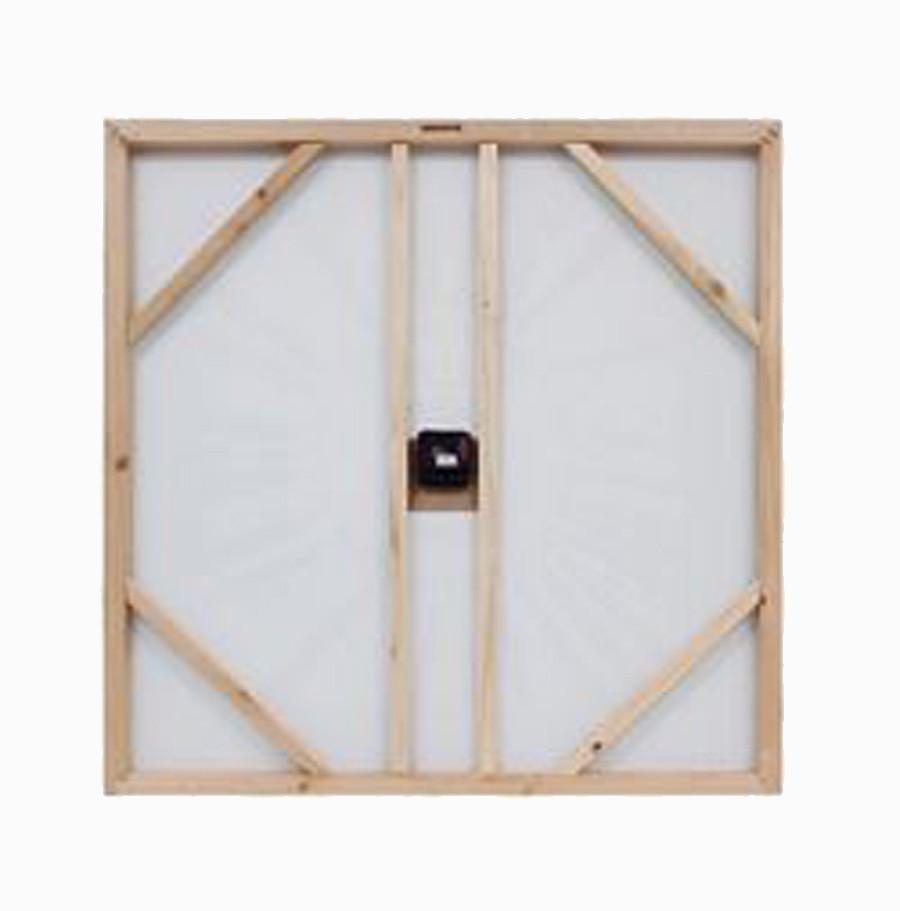 Relógio Azul Oldtown São Paulo Fullway 70x70x3cm  - Arrivo Mobile