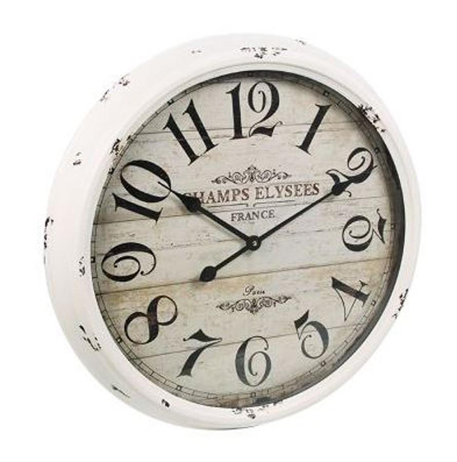 Relógio Branco Champs Elysees  - Arrivo Mobile