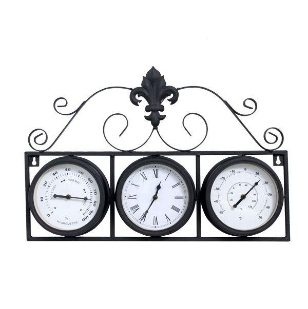 Relógio Com Termômetro E Higrômetro  - Arrivo Mobile