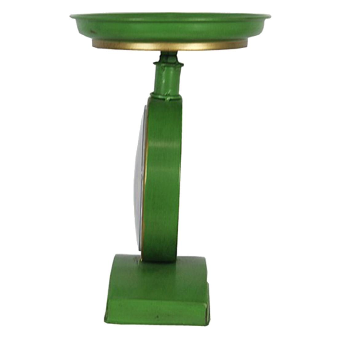 Relógio de mesa em metal Tipo Balança  - Arrivo Mobile