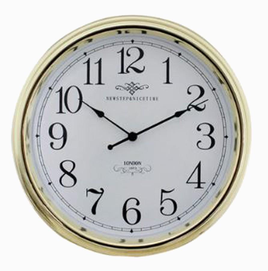 Relógio De Parede Blanche Gold G  - Arrivo Mobile