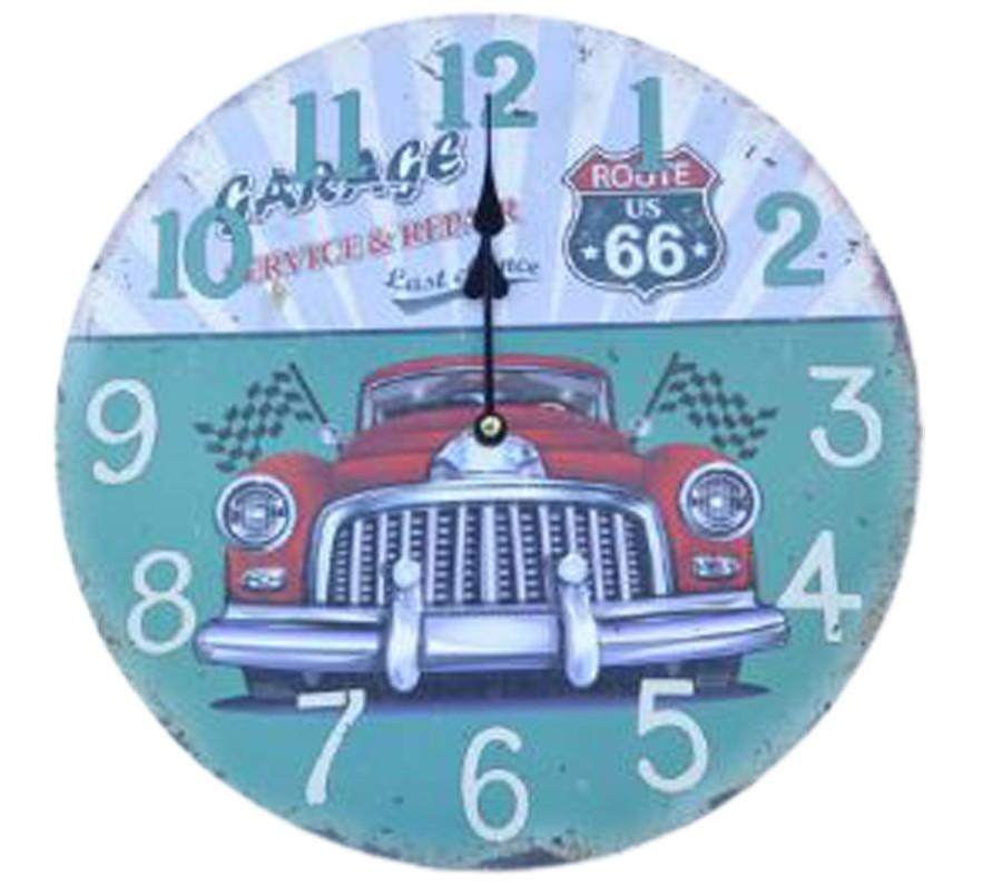 Relógio De Parede Carro Service Repair Last Chance  - Arrivo Mobile