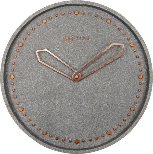 Relógio de Parede Cross Grey Nextime  - Arrivo Mobile