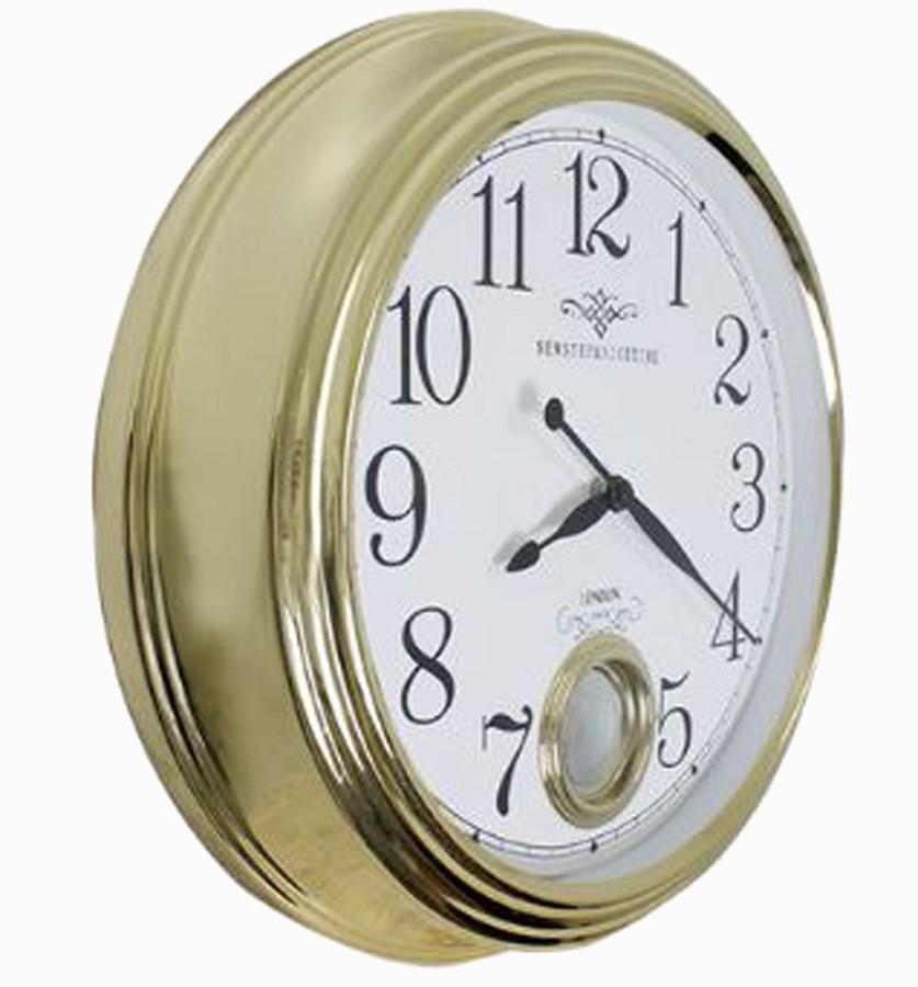 Relógio De Parede Edith Gold G  - Arrivo Mobile