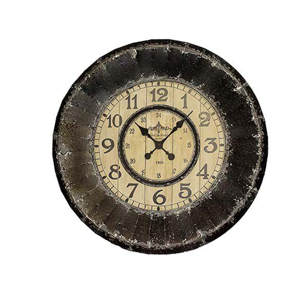 Relógio De Parede Envelhecido  - Arrivo Mobile