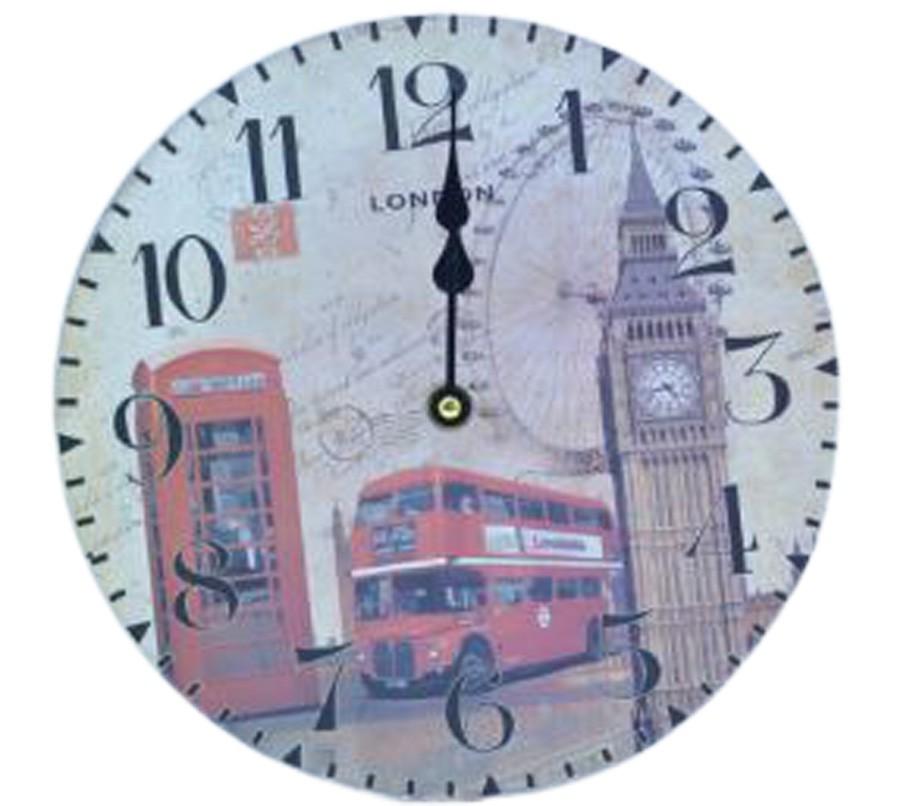 Relógio De Parede London  - Arrivo Mobile