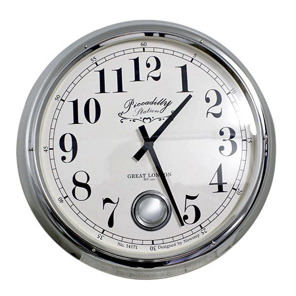 Relógio De Parede Louisesilver  - Arrivo Mobile