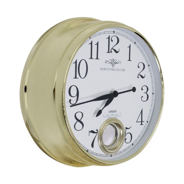 Relógio De Parede Marie Gold  - Arrivo Mobile