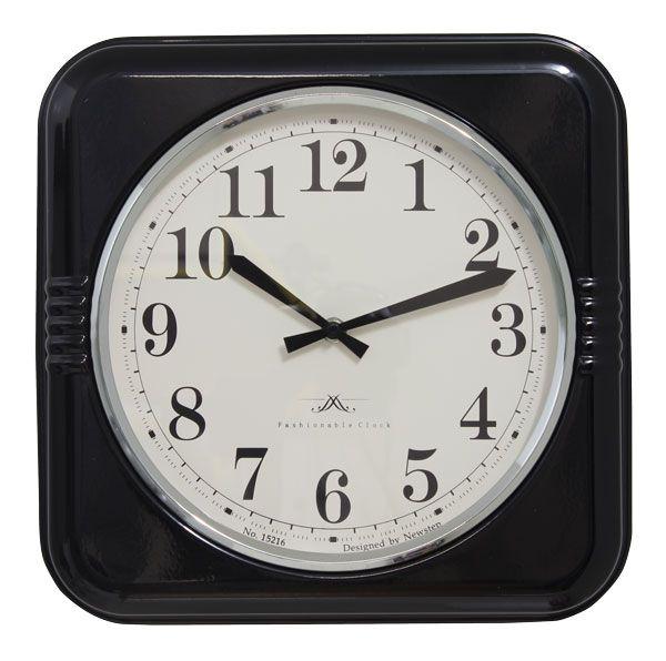 Relógio De Parede Mia Black  - Arrivo Mobile