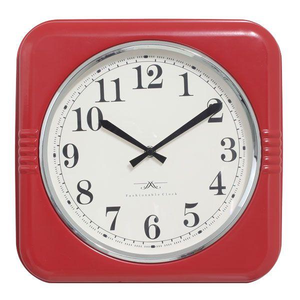 Relógio De Parede Mia Red  - Arrivo Mobile
