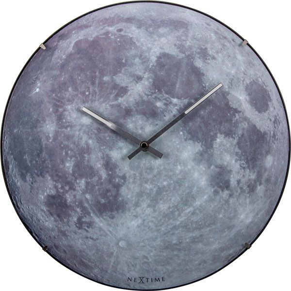 Relogio De Parede Moon Nextime 35cm  - Arrivo Mobile