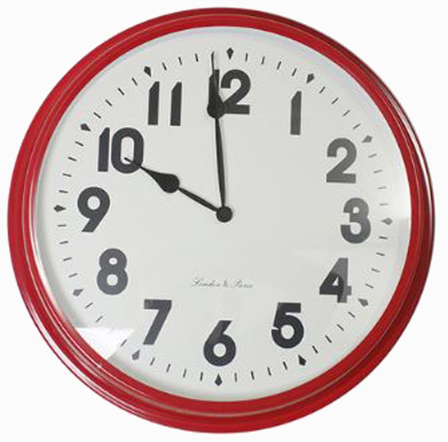 Relógio De Parede Sue Red  - Arrivo Mobile