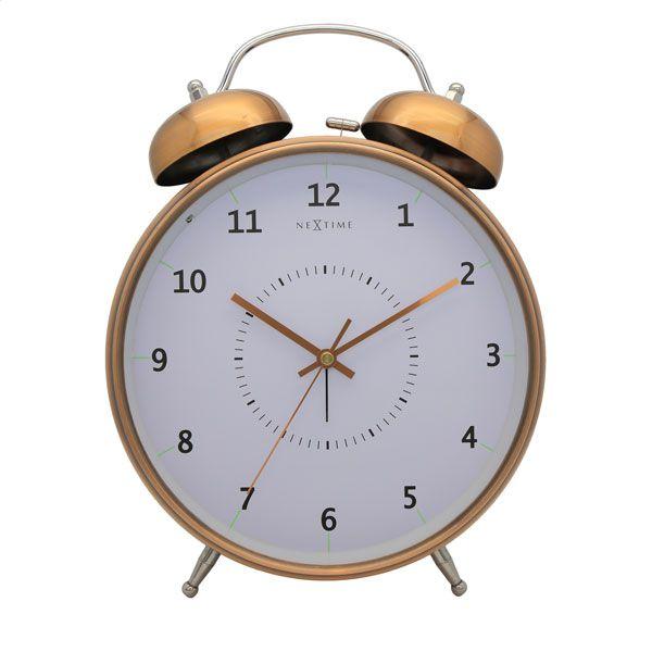 d52c5d4e68a Relógio Mesa Despertador Copper Nextime 30x23cm - Arrivo Mobile ...