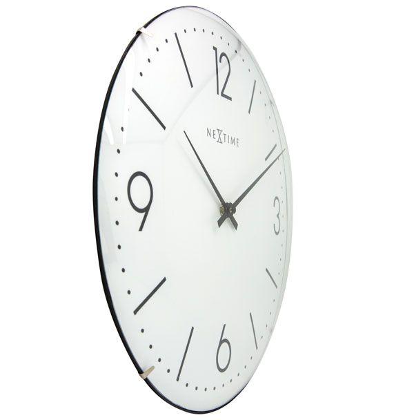 Relógio Parede Basic Dome White Nextime  - Arrivo Mobile