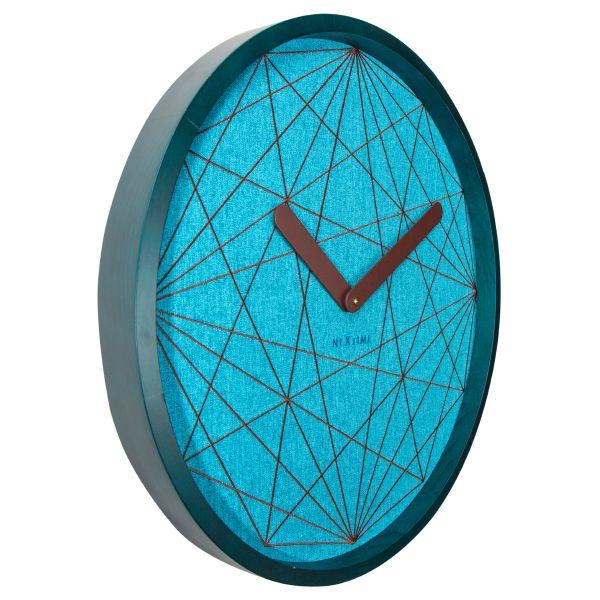 Relógio Parede Calmest Turquesa Nextime  - Arrivo Mobile