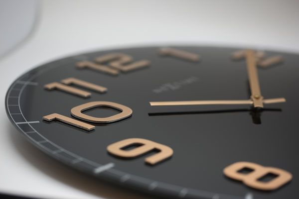 Relógio Parede Classy Round Black Copper Nextime  - Arrivo Mobile