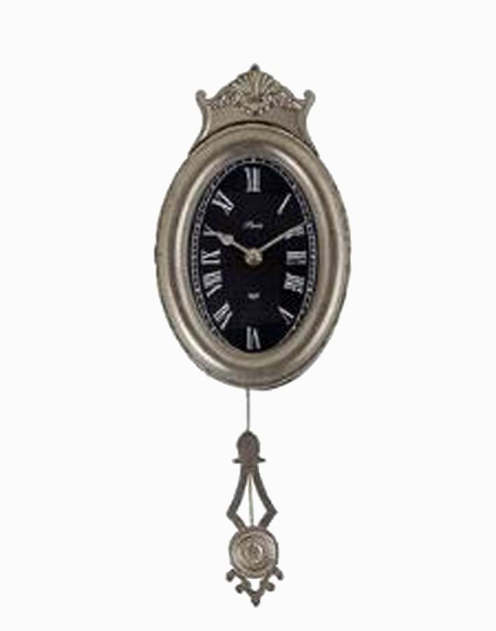 Relógio Parede Com Pendulo Oval  - Arrivo Mobile