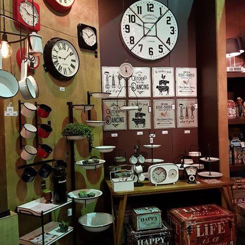 Relógio Parede Esmaltado Branco  - Arrivo Mobile