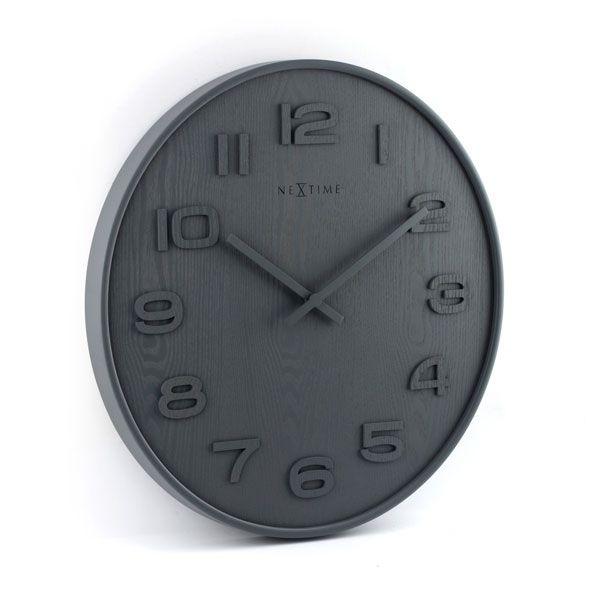 Relógio Parede Grey  Nextime  - Arrivo Mobile