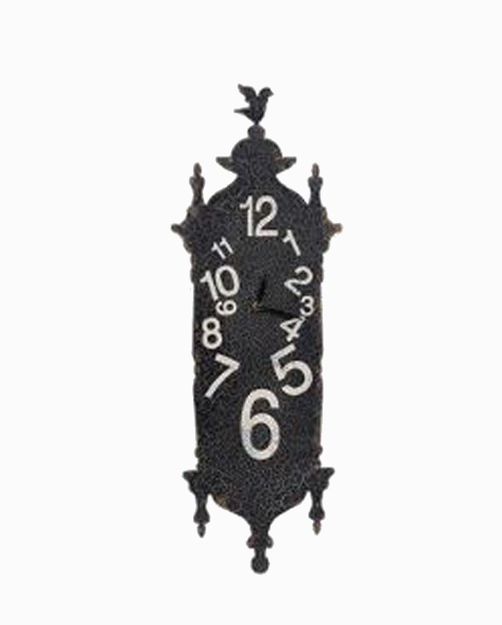 Relógio Parede Preto Tipo Cuco Desordem  - Arrivo Mobile