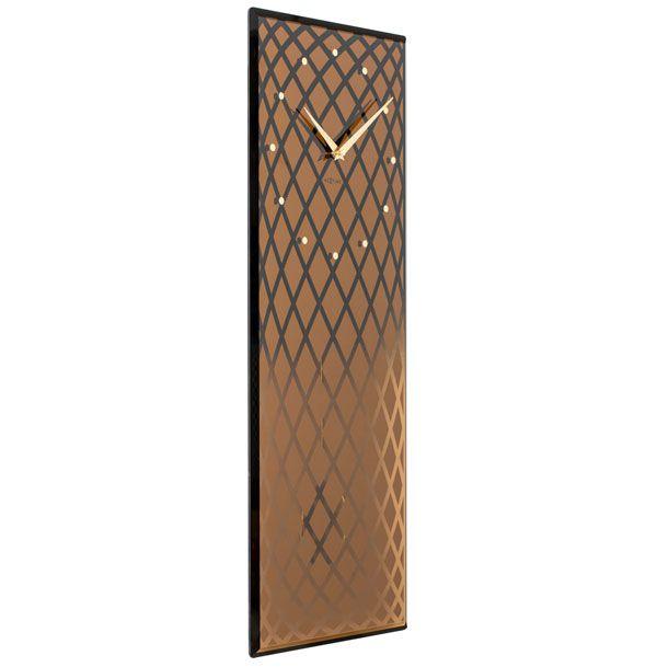 Relógio Parede Retangular Copper  Nextime  - Arrivo Mobile